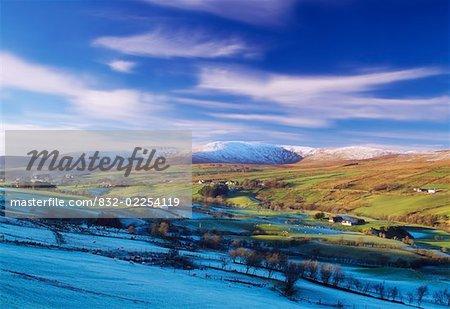 Co Tyrone, The Sperrins In Winter