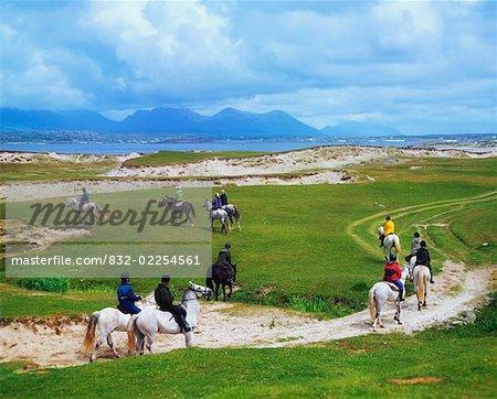 Pony Trekking, Co Galway