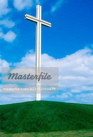 Cross built for the late Pope John Paul II, Papal Cross, Phoenix Park, Dublin, Co Dublin, Ireland
