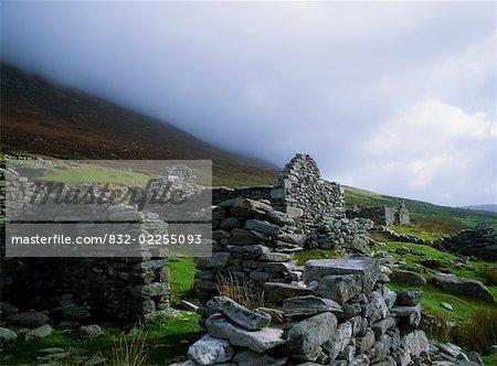 Deserted Village at Slievemore, Achill Island