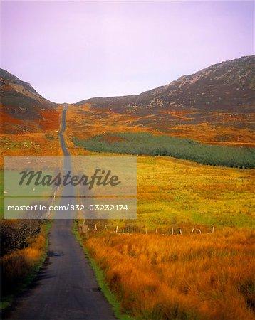 Gap Of Mamore, Inishowen, Co Donegal, Ireland