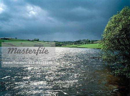 Shaw's Lake, Co Armagh, Ireland; Lake Near Markethill
