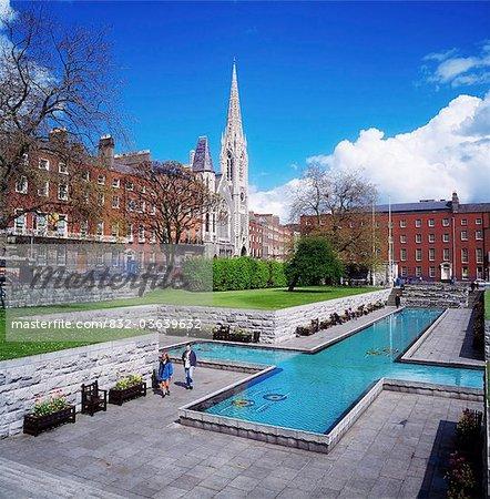 Garden Of Remembrance, Dublin, Co Dublin, Ireland; Irish Memorial Garden To The 1916 Easter Rising