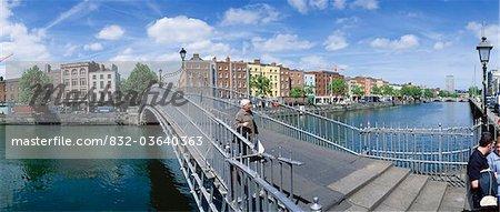 Dublin City, Ireland, Ha'penny Bridge