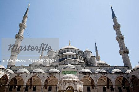 Turkey, Istanbul, Blue Mosque; Sultanahmet