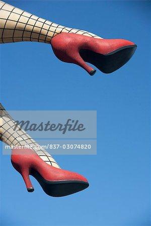 Legs of a mannequin,Haight-Ashbury,San Francisco,California,USA