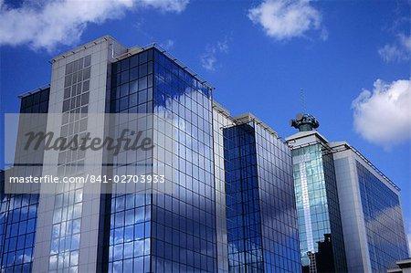 Modern building, Salford Quays, Manchester, England, United Kingdom, Europe