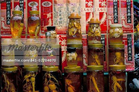 Ginseng shop, South Gate market, Seoul City, South Korea, Asia