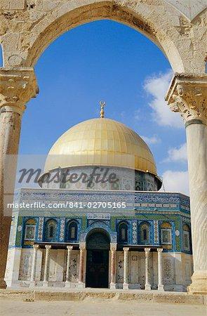 Dome of the Rock, Jerusalem, Israel. Middle East