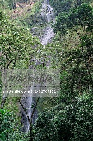 San Ramon waterfall, Ometepe island, Nicaragua, Central America