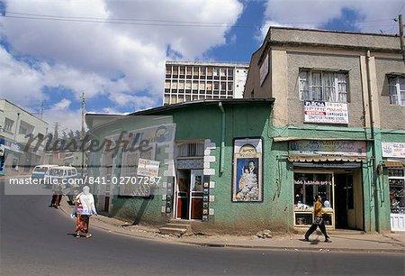 Street scene, Addis Ababa, Ethiopia, Africa