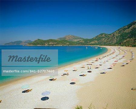Olu Deniz, Town Beach, Turkey, Eurasia