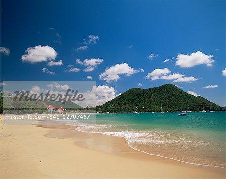 Reduit beach, Rodney Bay, St. Lucia, Windward Islands, West Indies, Caribbean, Central America