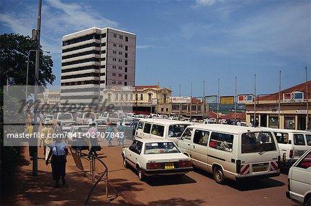 Street scene, Kampala, Uganda, East Africa, Africa