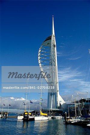 Spinnaker Tower, Portsmouth, Hampshire, England, United Kingdom, Europe