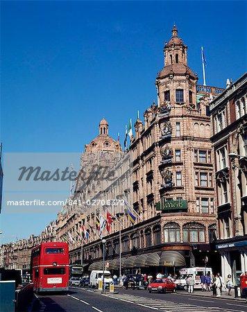Harrods, Knightsbridge, London, England, United Kingdom, Europe