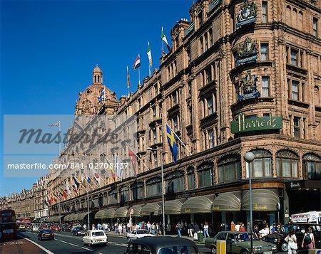 Harrods department store, Knightsbridge, London, England, United Kingdom, Europe