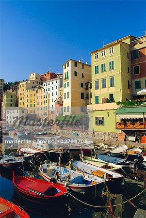 Camogli, Portofino Peninsula, Liguria, Italy, Europe