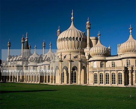 Royal Pavilion, Brighton, Sussex, England, United Kingdom, Europe
