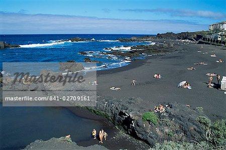 Playa de los Cancojos, La Palma, Canary Islands, Spain, Atlantic, Europe