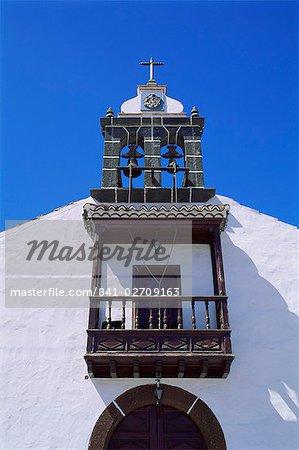 Church at Mirca, La Palma, Canary Islands, Spain, Europe