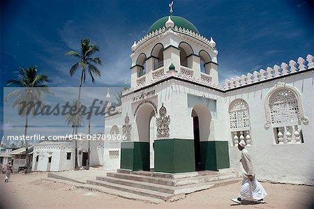 riyadha mosque lamu island kenya east africa africa stock