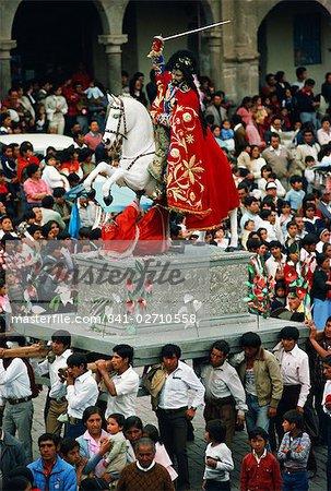 Festival of Corpus Christi, Cuzco, Peru, South America