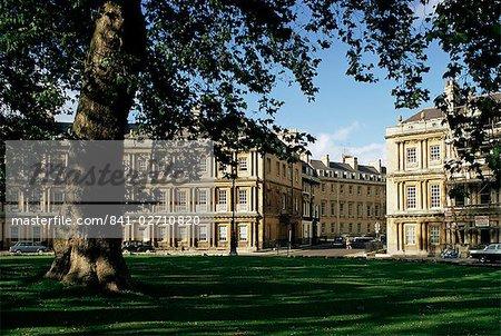 The Circus, Bath, Avon (Somerset), England, United Kingdom, Europe