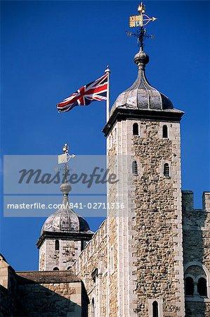 White Tower, Tower of London, UNESCO World Heritage Site, London, England, United Kingdom, Europe