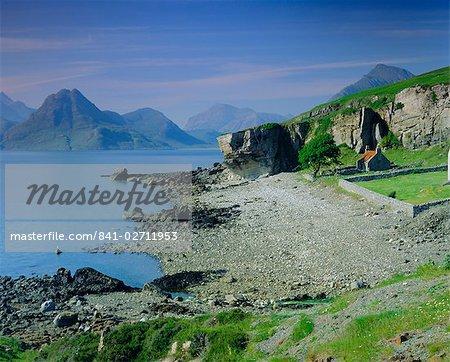 Elgol and the Cuillin Hills, Isle of Skye, Highlands Region, Scotland, United Kingdom, Europe