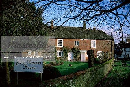 Jane Austen's house, Chawton, Hampshire, England, United Kingdom, Europe
