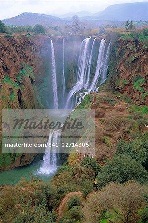 Ouzoud Waterfalls, Beni Melal, Morocco, North Africa
