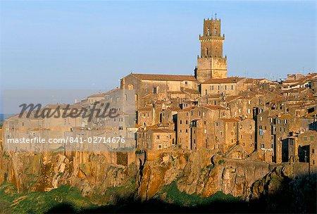 Pitigliano (Grosseto), Tuscany, Italy, Europe