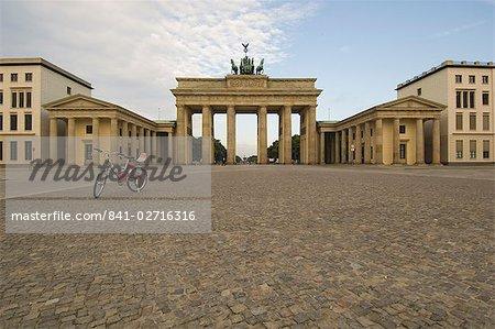 Bike at the Brandenburg Gate, Berlin, Germany