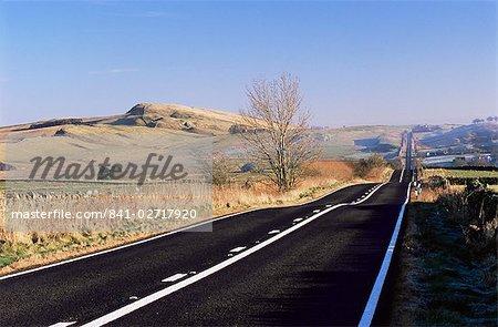 Roman Road, Sunny Rigg to east, Northumberland (Northumbria), England, United Kingdom, Europe