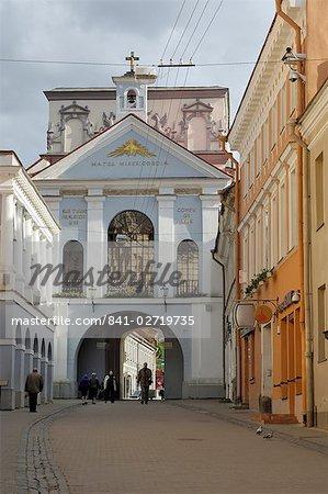 Gate of Dawn, Vilnius, Lithuania, Baltic States, Europe