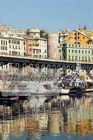 Waterfont, Porto Antico (Ancient Port), Genova (Genoa), Liguria, Italy, Europe
