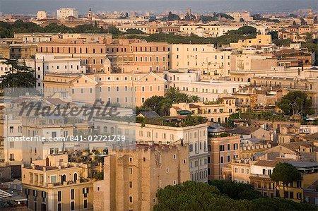 View from Altare della Patria, Elio Quarter, Rome, Lazio, Italy, Europe