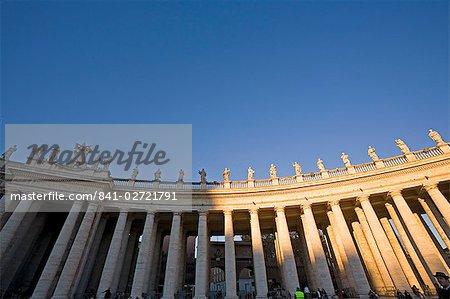 St. Peter's Square, Vatican City, Rome, Lazio, Italy, Europe