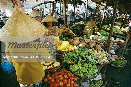 Fruit market, Hoi An, Vietnam, Indochina, Southeast Asia, Asia