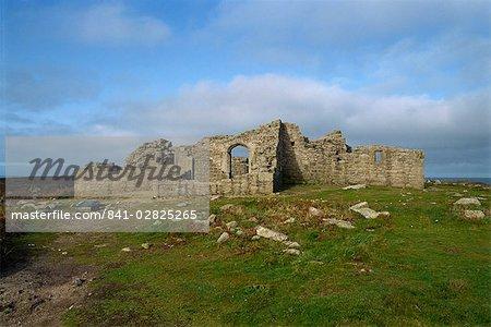 King Charles Castle, Tresco, Isles of Scilly, United Kingdom, Europe