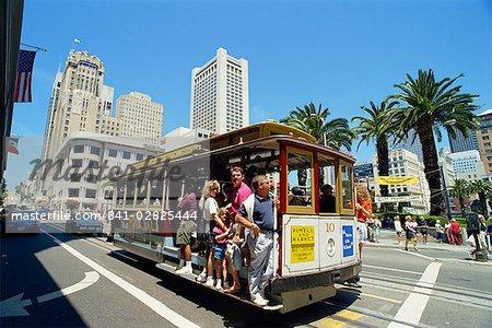 Union Square area, San Francisco, California, United States of America, North America
