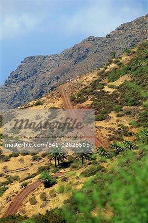 Area between Alajero and Erquito, La Gomera, Canary Islands, Spain, Atlantic, Europe