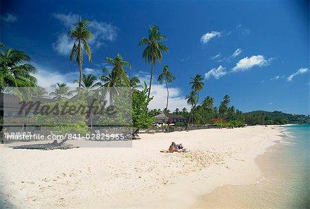 Grand Anse Beach, Grenada, Windward Islands, West Indies, Caribbean, Central America