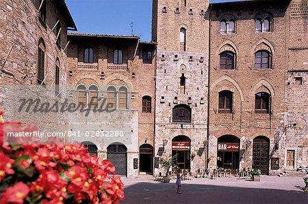 San Gimignano, UNESCO World Heritage Site, Tuscany, Italy, Europe