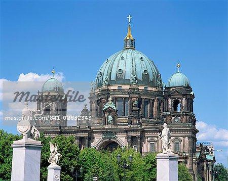 The Berliner Dom in Berlin, Germany, Europe