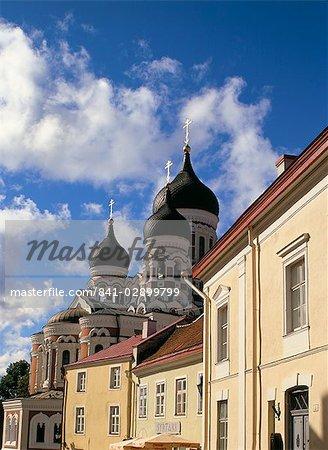 The Alexander Nevsky Cathedral, Tallinn, Estonia, Baltic States, Europe