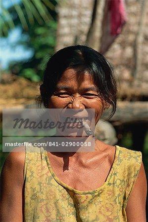 Aboriginal lady, Shung Treng, Cambodia, Indochina, Southeast Asia, Asia