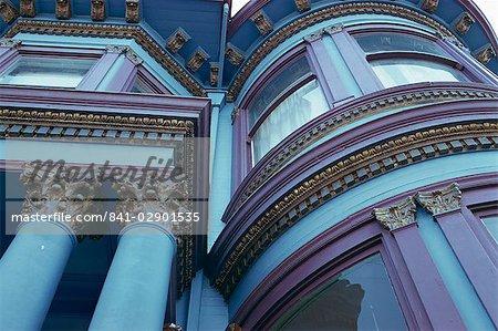 Carpenters Gothic House, Haight-Ashbury, San Francisco, California, United States of America, North America