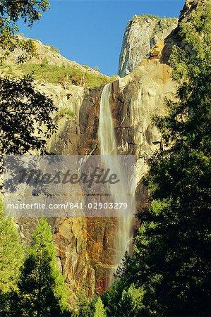 Bridalveil Falls, Yosemite National Park, California, United States of America